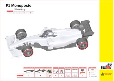 Moderne F1 wit