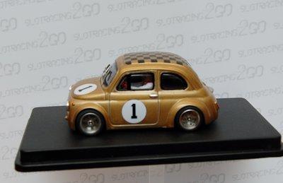 Fiat 500 Abarth goud