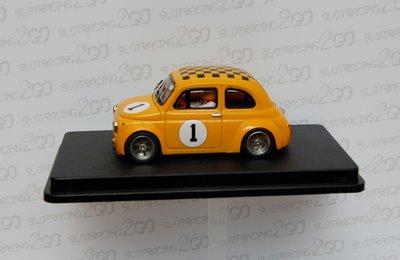 Fiat 500 Abarth oranje