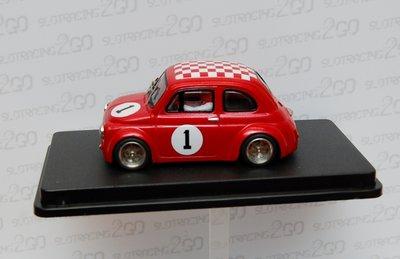 Fiat 500 Abarth rood